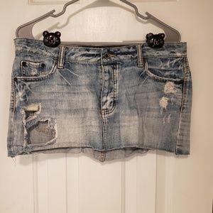 American Eagle Jean Miniskirt